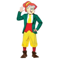 Kelloggu0026#x27;s Ernie Keebler Elf Mens Halloween Costume - standard ...  sc 1 st  Overstock.com & Shop Kelloggu0027s Ernie Keebler Elf Mens Halloween Costume - standard ...