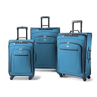 American Tourister AT Pop Plus 3 Piece Set, Moroccan Blue