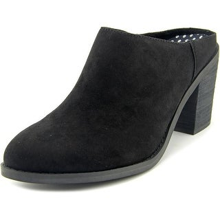 Rocket Dog Dex Women Pointed Toe Synthetic Black Mules