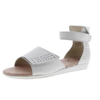 Umi Girls Kennix Leather Flat Sandals - 3
