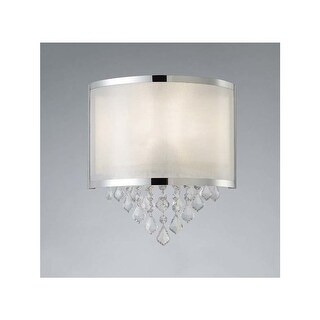 "Canarm IWL435A01 Reese Single Light 12-1/2"" High Wall Sconce"