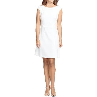 American Living Womens Wear to Work Dress Jacquard Lace Trim