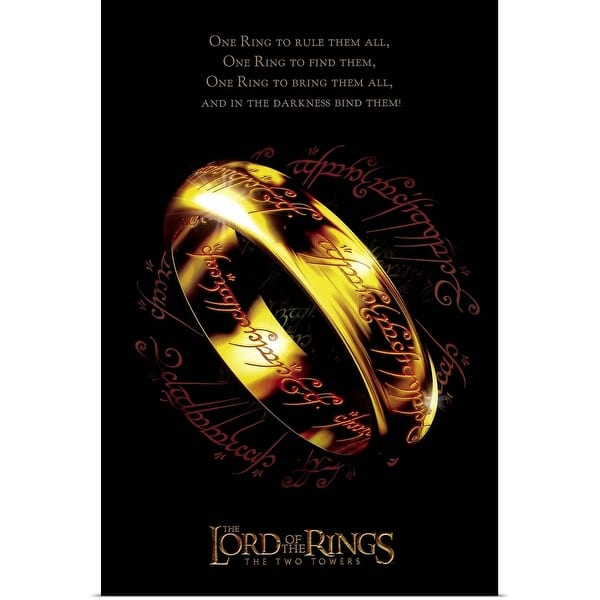 Shop Black Friday Deals On Lord Of The Rings The Two Towers 2002 Poster Print Overstock 24129572
