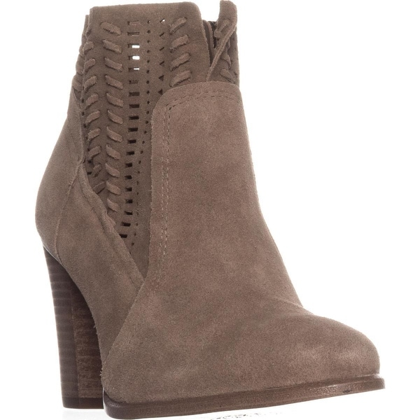 Vince Camuto Fenyia Block-Heel Ankle Boots, Foxy