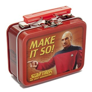 Star Trek The Next Generation Teeny Tin Lunch Box, 1 Random Design - multi
