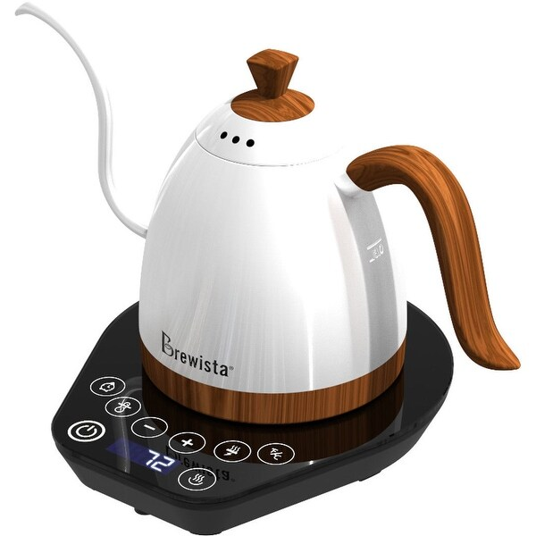 Shop Brewista Variable Temperature Kettle Pearl White