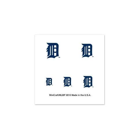 Detroit Tigers Tattoos Fingernail