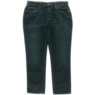 Nautica Jeans Co. Mens Denim Dark Wash Slim Jeans
