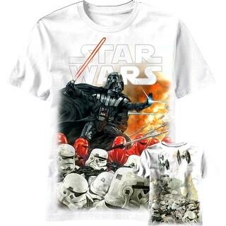 Star Wars Extermination Men's White Shirt