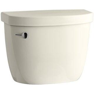Kohler K-4166 Cimarron 1.28 GPF Toilet Tank Only with AquaPiston Technology