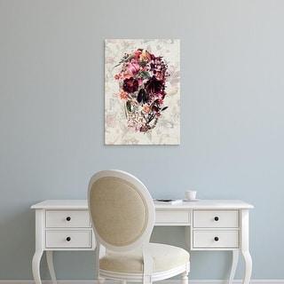 Easy Art Prints Ali Gulec's 'Spring Skull' Premium Canvas Art