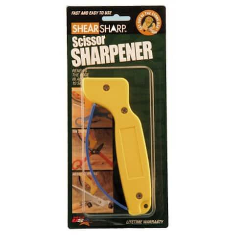 """""""Shear Sharp"""" Carbide Scissor Sharpener"""