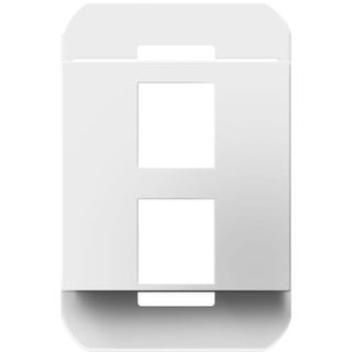 Legrand AC2PFW1 Wall Frame with 2 Keystone Data Connection Ports