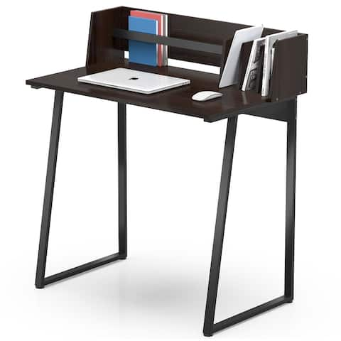 FITUEYES Writing Study Desk with Storage for Small Space
