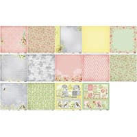 """-Scrapberry's The Art Of Nature Paper Pack 12""""X12"""" 8/Pkg"""
