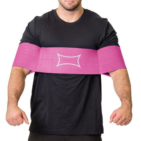Sling Shot Reactive Power Lifting Band by Mark Bell - Pink - Increase your bench