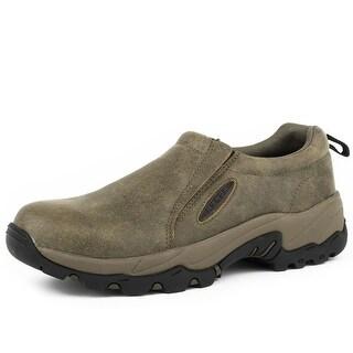 Roper Western Shoes Mens Perform Sport Slip-On Tan 09-020-0600-0179 TA