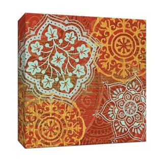 """PTM Images 9-146940  PTM Canvas Collection 12"""" x 12"""" - """"Bojo Moroccan"""" Giclee Patterns and Designs Art Print on Canvas"""