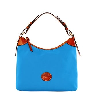 Dooney & Bourke Nylon Large Erica (Introduced by Dooney & Bourke at $149 in Dec 2016) - French Blue