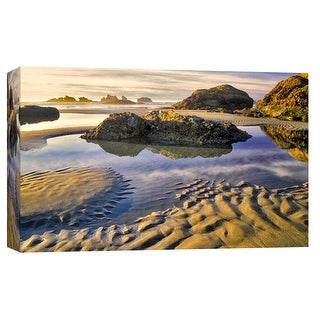 "PTM Images 9-102174  PTM Canvas Collection 8"" x 10"" - ""Clear Sight"" Giclee Beaches Art Print on Canvas"