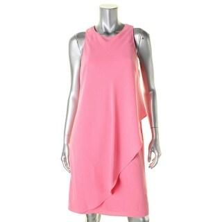 Lauren Ralph Lauren Womens Casual Dress Ruffled Sleeveless