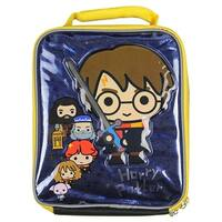 Harry Potter Lunch Box Soft Kit Insulated Bag Chibi Hogwarts