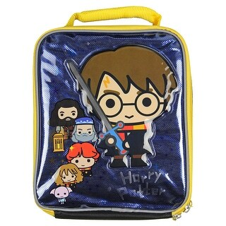 Harry Potter Hogwarts Crest Insulated Lunch Bag