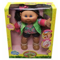"Cabbage Patch Kids 14"" Plush Doll: Brunette Hair/Blue Eye Girl (Adventure) - multi"