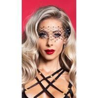 Diamond Net Crystal Eye Mask, Diamond Net Eye Mask - as shown - One Size Fits most