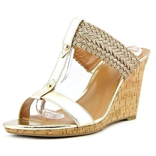 Tommy Hilfiger Women's Eleona Synthetic Wedge Slide Sandals