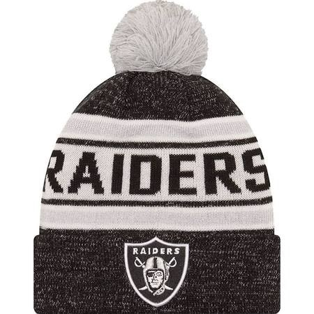 Shop New Era Mens Oakland Raiders Toasty Cover Cuffed Knit Hat with ... e76f75e35708