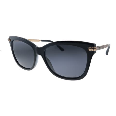 Jimmy Choo JC Shade/S 807 Womens Black Frame Grey Lens Sunglasses