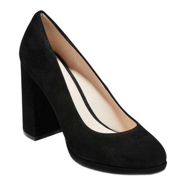 77597d95798 Shop Cole Haan Women s Renner Grand Pump Black Suede - Free Shipping ...