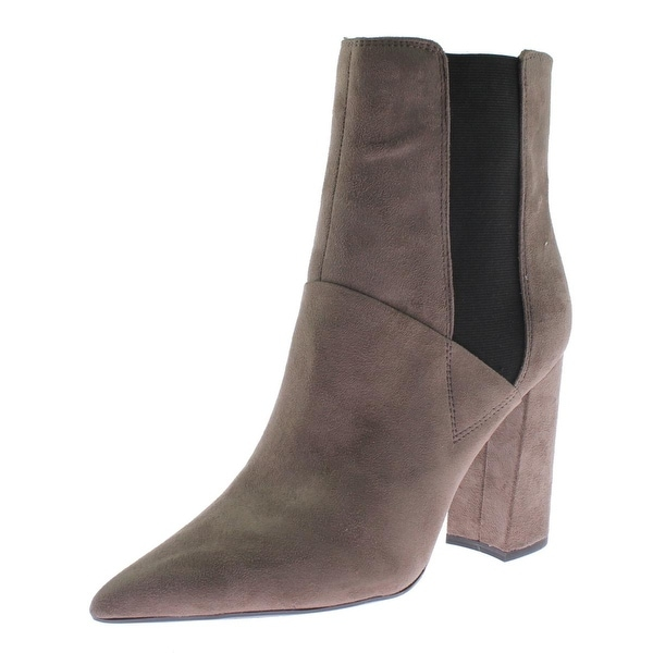 Guess Womens Breki 2 Ankle Boots Suede Colorblock