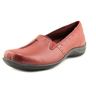 Easy Street Purpose W Square Toe Synthetic Loafer