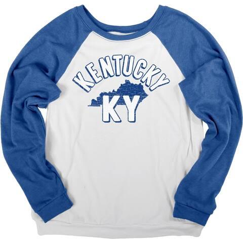 Kentucky Bella Fleece Crew Long Sleeve Shirt