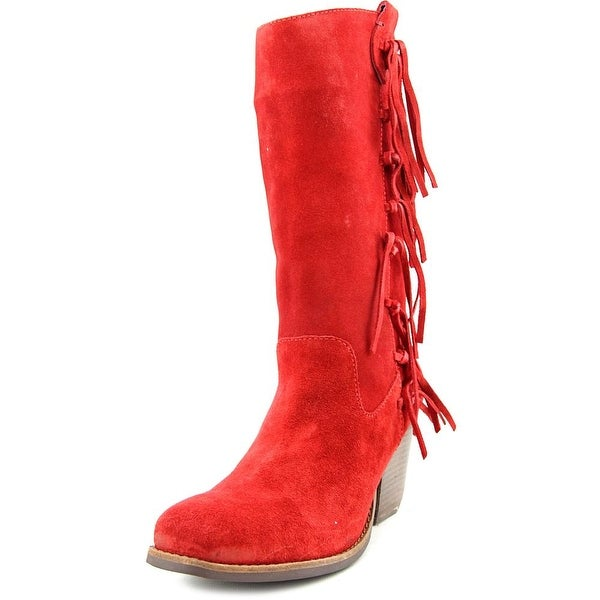 Matisse El Paso Women Square Toe Suede Mid Calf Boot