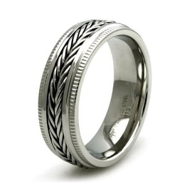 Stainless Steel Dual Cable Ring