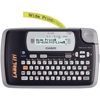 Casio Kl120L 16-Digit, 2-Line Label Printer