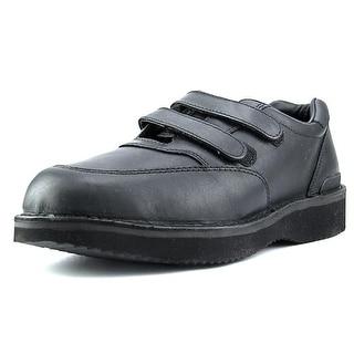 Ultra Walker Walkabout Quick Grip Men  Round Toe Leather  Walking Shoe