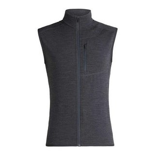 Icebreaker Men's Descender Vest Jet Heather/Monsoon