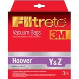 Eureka 64702A-6 Hoover Style Y & Z Vacuum Cleaner Bag, Pack 3