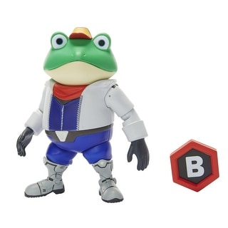 "World of Nintendo 4"" Figure: Slippy Toad"