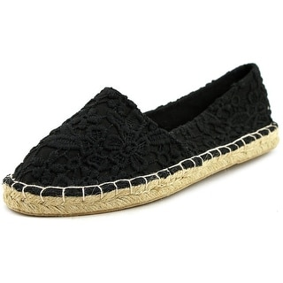 Wild Pair Ladera Round Toe Canvas Espadrille