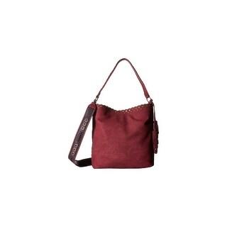 Steven Womens Madaxx Hobo Handbag Suede Convertible - LARGE