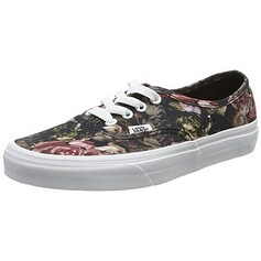 VANS Moody Floral Authentic Black/True White VN0004MLJOU Mens 7.5, Womens 9