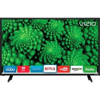 """Vizio D40f-E1 1080p 40"""" Smart LED TV, Black (Refurbished)"""