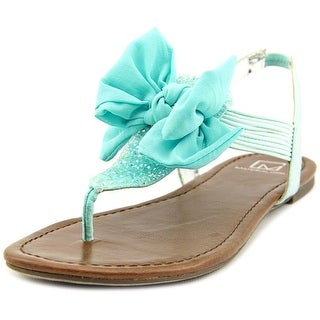 Material Girl Swan Women Blue Sandals