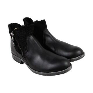 shop gbx tacks mens black leather casual dress zipper