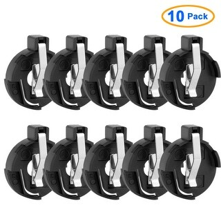 10Pcs 2cm Pin Distance Housing Cell Button Battery Holder for CR2032/2025/2016